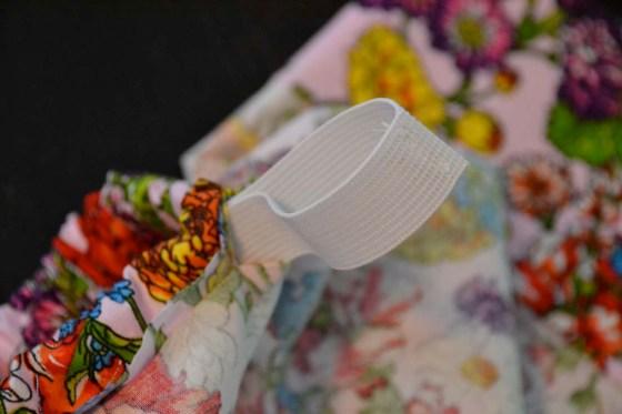 9 sew elastic together